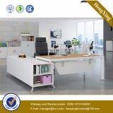 Melamine Office Furniture L-Shape Executive Office Desk (UL-NM108)