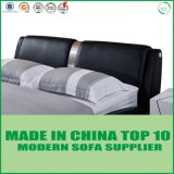 Foshan Factory Leisure Home Leather Bed