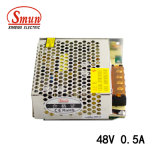 Smun S-25-48 48VDC 0.5A Output Switching Power Supply