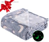Microfibre Super Soft Coral Flannel Fleece Polyester Antipilling Print Air Conditioning Travel Promotion Blanket