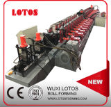 Gear Box Antisheft Door Frame Roll Forming Machine with Corner Punching