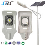 30W 60W Waterproof IP67 Solar Powered LED Street Light