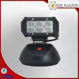 18W 1500lm Auto LED Car Work Light with Charge