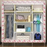 Bedroom Furniture Cheap Price Non-Woven Fabric Wardrobe