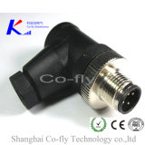 M12 Shielded Male & Female Angle Molded Field Assembly Connectors