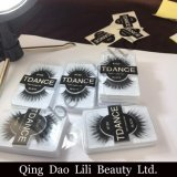 Own Brand/OEM/Private Label Wholesale 3D 100% Mink Fur False Eyelashes Silk Lashes