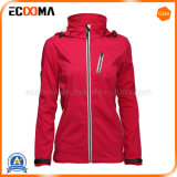 Simple Design Cheap Outer Wear Soft Shell Jacket for Women