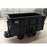 Bucket-Tipping Mine Car Narrow-Gauge Railway Transportation Vehicle Coal, Ore Transportation