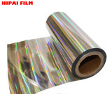 Metallized Pet Holographic Film for Paper Laminated and Printing