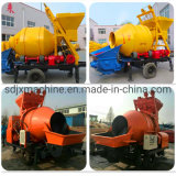 Mobile / Strong Powerful Concrete Mixer Pump High Work Efficiency Save Labor Costs
