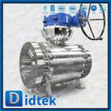 Didtek Anti Static F51 Duplex Stainless Steel Trunnion Ball Valve