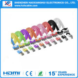 Colorful Data Charger Cable Metal Plug for iPhone Accessories