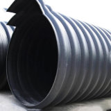 Wholesale Steel Band Reinforced Corrugated Pipe, PE Spiral HDPE Pipe