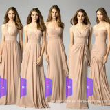 Wholesale Retail Bridesmaid Dresses Stock Long Chiffon Evening Dresses Lb17926