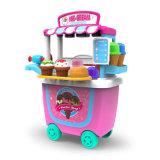 Kids Pretend Play Kitchen Toy Ice Cream Car Plastic Toy (H5931135)