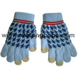 Jacquard iPhone Touchscreen Knitted Glove (JRAC037)