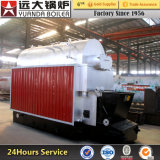 Capacity 5 MW Heat Wheat Straw-Fed Boiler for Heating Greenhouse