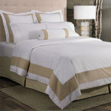 Hotel Collection Embroidered White California King Bed Sheet Set
