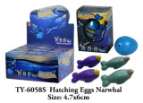 Magical Hatchling Dilated Narwhal Children Play with Interesting Novelty Toys