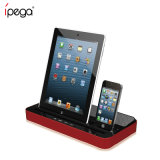 Ipega Pg-IP115 Multi-Function Speaker & Charger for iPhone 4/5/6/7 for iPad 2/3/4/Mini for Samsung Galaxy S2/S3