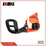 Orange Gasoline Chain Saw with Single Cylinder