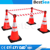 Hotsale Good Quality Heigh Quality Red PE Cone Retractable Topper