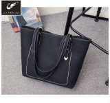 Fashion Style Elegant Women Bags Cheap PU Leather Handbags Lady Tote Bags with Custom Logo 2018