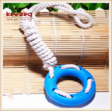 TPR Cotton Rope with Tyre Pet Dental Toys/Dog Toy (KB1029)