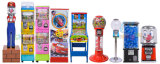 Candy Capsule Elastic Bouncing Rubber Gashapon Ball Vending Game Machines
