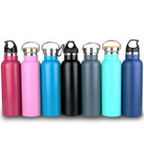 BPA Free 750ml Sport Outdoor Stainless Steel Bottle with Portable Kettle Mountaineering Buckle