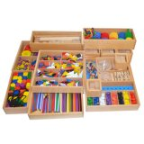Wholesale Wooden Sensorial Montessori Material Product Educational Toys for Kids