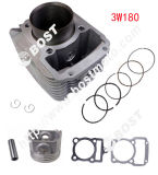 Honda Bajaj Tvs Piaggio 3-Wheel Motorcycle Engine Parts Cylinder Kit for Akt 3W180 Re205 Cg250 Cg200 Cg150