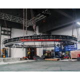 Hot Sell Easy Install Aluminum Circle Stage Round Rotating Truss for Lighting