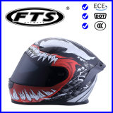 Motorcycle Helmets with DOT & ECE Certificates ABS Material Full Face Half Open Jet Cross Safety Protector