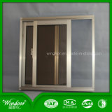 High Quality Double Glass Aluminum Sliding Window