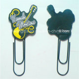 Guitar Design Soft PVC Bookmarker for Stationery Gifts