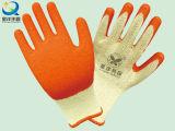 21 Gauge Yarn Cotton Latex Palm Coated Safety Work Glove (L009)
