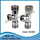 Angle Valve for Mixer, Toilet Cistern, Washing Machine (V22-005)