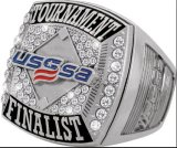 Custom Usssa Rings Own Logo Design with Drop Shipping