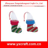 Christmas Decoration (ZY14Y152-3-4) Christmas Kit Boot Xmas Gifts