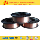 Electrocoppering Producing Process Er70s-6 Welding Wire with 1.2mm 15kg/D270 Plastic Spool