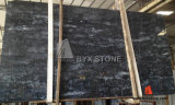 Chinese Black Forest Marble Stone Slab for Flooring Paving