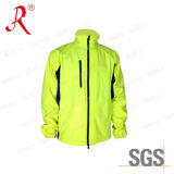 New Design Men′s Softshell Jacket with Stand Collar (QF-4059)