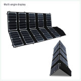 65W Folding Portable Sunpower Solar Panel for Camping