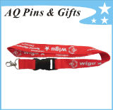 Wholesale Cheap Custom Printing Polyester Neck Lanyard with Your Logo for Promotion