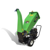 Garden Home Use 15 HP Loncin Gasoline Engine TUV Approved Mobile Wood Chipper