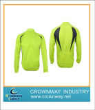Fluorescent Green Cycling Jersey Shirt, Sport Wear