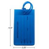 Cheap Prevention Loss Glof Name Tags Plastic PVC Luggage Tags