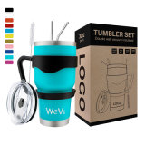 Wholesale China Price Double Wall Vacuum Insulated Rambler Stainless Steel 30oz Coffee Cup Tumbler