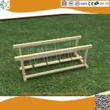 Outdoor Garden Wooden Swinging Bridge for Children Kindergarten Game Equipment